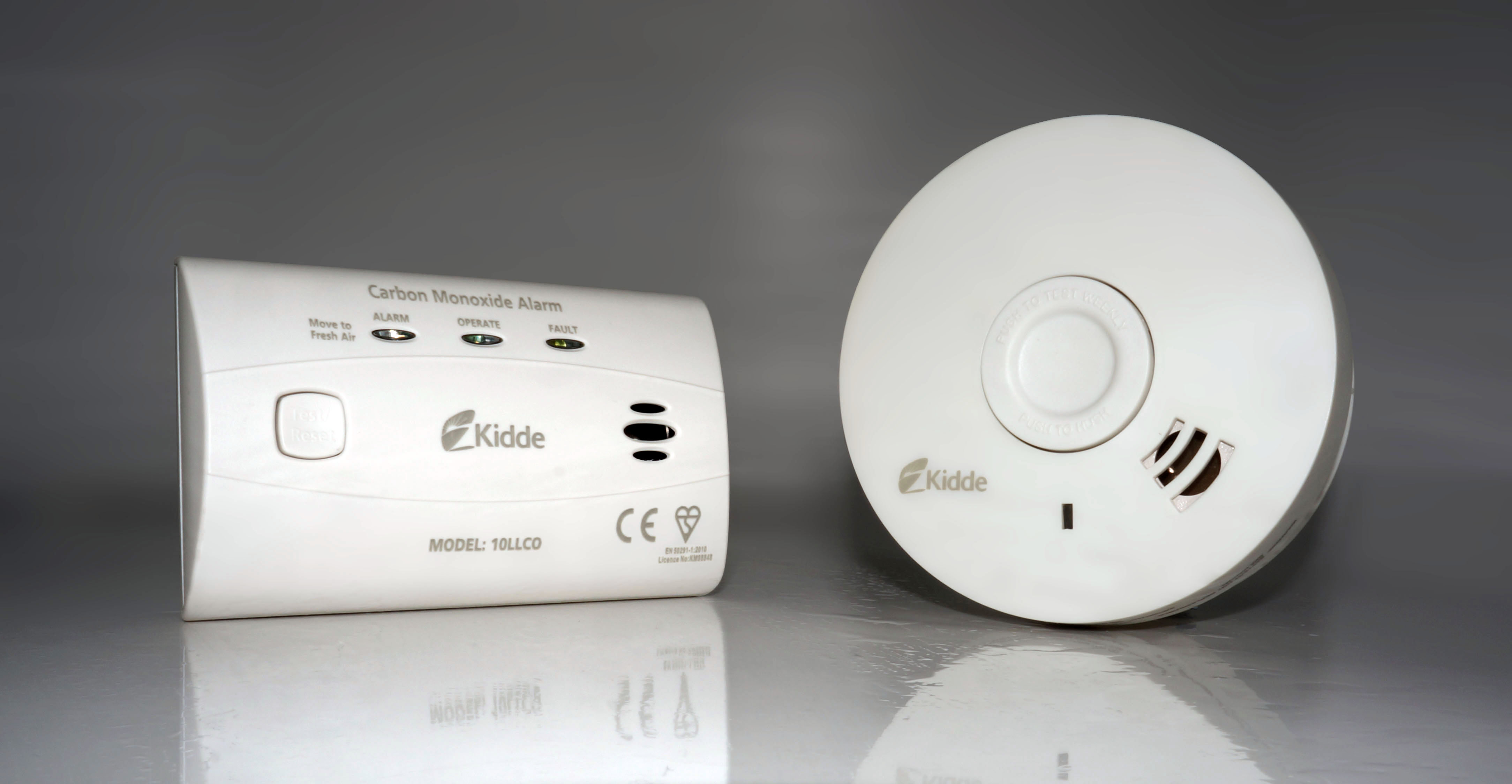 Kidde 10-year CO and smoke alarms