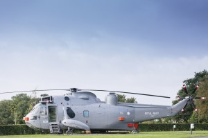 Sea King helicopter glamping-010