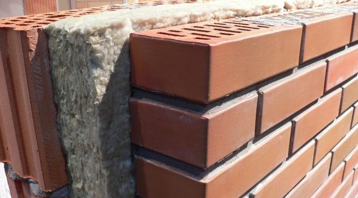 Insulation in Brick