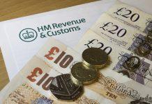 HMRC Tax Cash