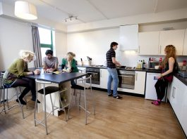 student accommodation house