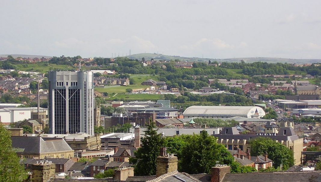 Blackburn Lancashire Townscape