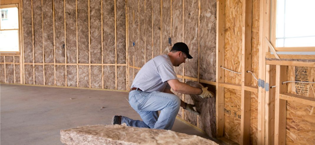 install wall insulation