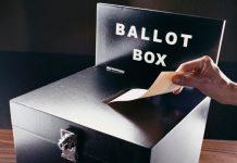 Voting Ballot Box