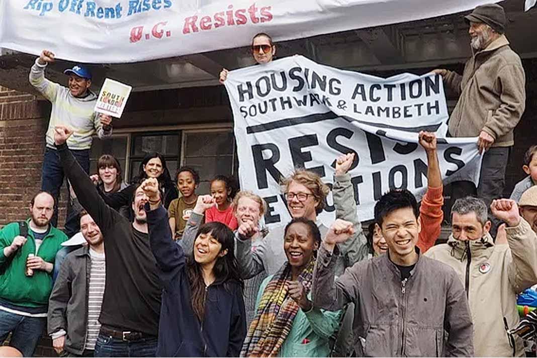rent strike