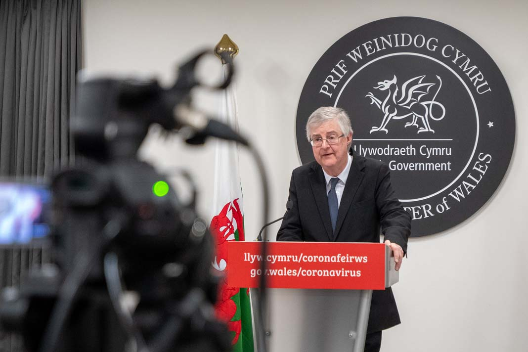 wales lockdown mark drakeford