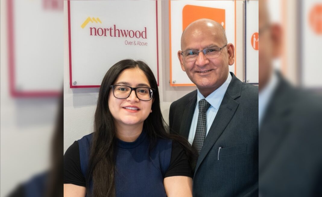 Family business - Mahomed Imtayas with his daughter Anjum Jussab