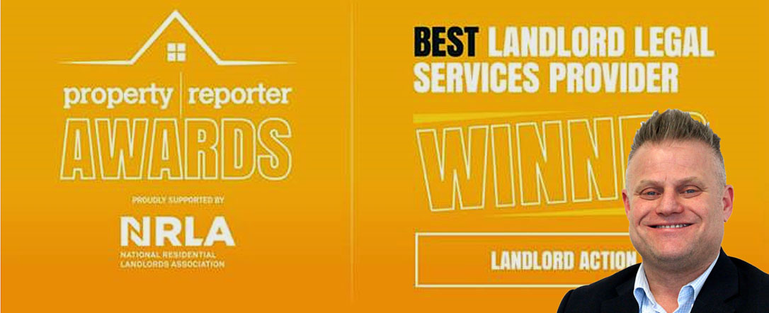 Landlord Action wins gong at new property industry awards