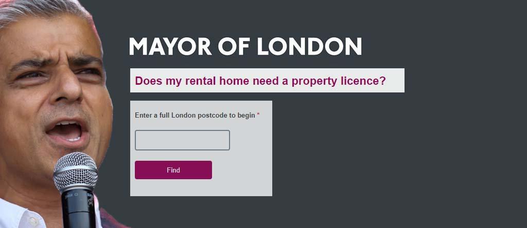 mayor of london khan licence checker