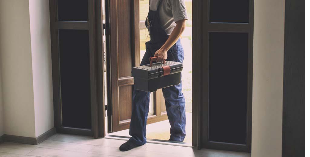 handyman covid tests landlord