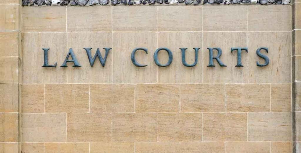 rent arrears law courts