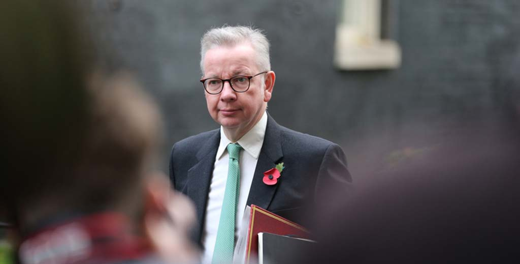 Just 10% of landlords support arrival of Gove as housing secretary