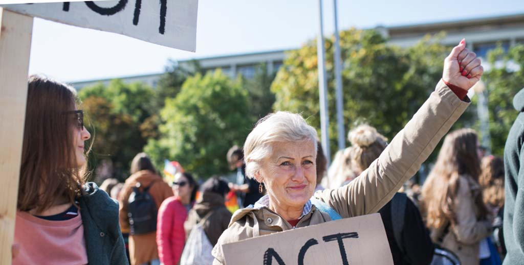 landlord demonstration